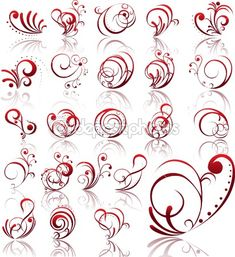 Pinned by www.SimpleNailArtTips.com TUTORIALS: NAIL ART DESIGN IDEAS -Beautiful scrolls and flourishes