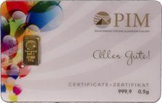 PIM Gold Goldcards #goldbarren #goldverkauf #goldankauf #goldpreise #goldkarten #goldcards #goldgeschenk #gold #feingold