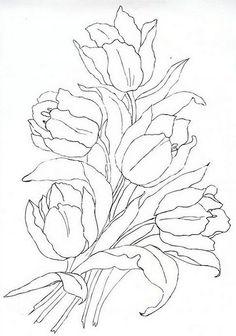 Flores para pintar - Joana La Rubia - Álbumes web de Picasa