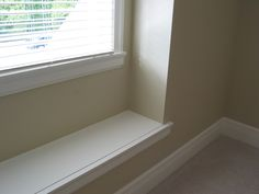 Window Seat Window Trim RVRS Finishing Touches Gallery - Rick VanderHeide Renovation Specialist Residential Renovations & Finishing Carpentry in Surrey, BC Staircase Railings, Door Trims, Baseboards, Surrey, Built Ins, Carpentry, It Is Finished, Windows, Flooring