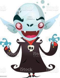 Cute cartoon vampire smiling. Vector illustration - Векторная графика Вампир роялти-фри Vampire Cartoon, Cute Cartoon, Illustration, Cartoons, Cartoon, Cartoon Movies, Illustrations, Cute Comics, Comics And Cartoons