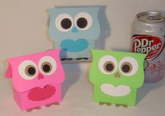 Owl Baby Shower Gift Bags
