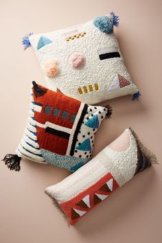 Slide View: 7: Embellished Shape Study Pillow