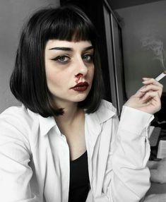 Mia Wallace makeup by Sweet Raven
