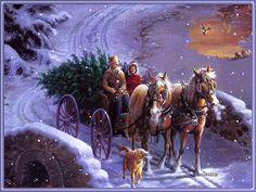 Magic Christmas Cards witch we collect for you are paintings by Thomas Kinkade. Chose the best for you and send it to your friends for Marry Christmas! Happy Merry Christmas, Magical Christmas, Christmas Past, Country Christmas, Beautiful Christmas, Winter Christmas, Xmas, Christmas Cactus, Christmas Lights