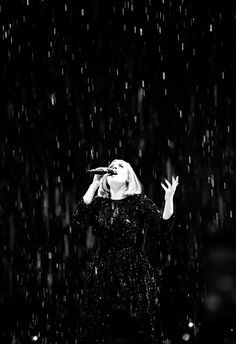 Adele performs on stage at The SSE Arena Belfast on March 1 2016