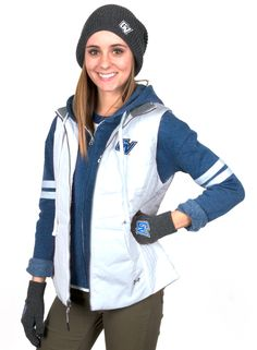 Layer up in a GV Under Armour vest!