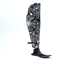 Amazing prosthetic leg covers!!