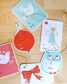 Printable tags that are adorable!