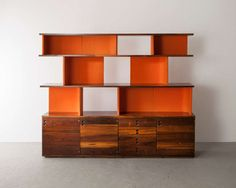 Bookshelf in Jacaranda | From a unique collection of antique and modern bookcases at http://www.1stdibs.com/furniture/storage-case-pieces/bookcases/bookshelf-jacaranda/id-f_1082092/#