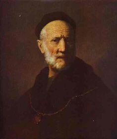 rembrandt van, painted portrait, rembrandt father, artist, van rijn