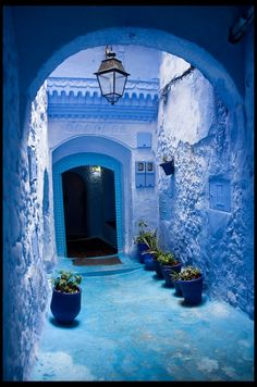 Chefchaouen, Light Dome Morocco