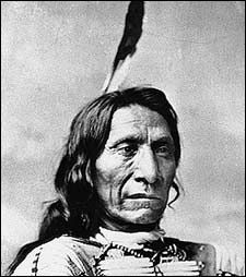 Red Cloud was born near the forks of the Platte River, near what is now North Platte, Nebraska. His mother was an Oglala and his father, who died in Red Cloud's youth, was a Brulé Red Cloud was raised in the household of his maternal uncle, Chief Smoke.