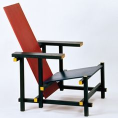 Gerrit Rietveld Sessel Red & Blue »« Red & Blue chair