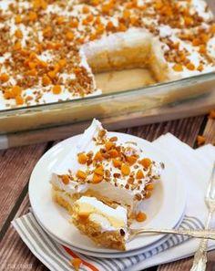 Pumpkin Pie Dessert Lasagna! This is the best Thanksgiving dessert ever! SO EASY! - The Cookie Rookie