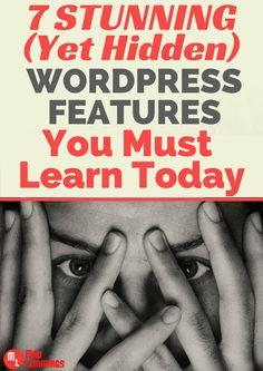 Learn Some Powerful WordPress Features You Probably Did not Know #wordpress
