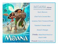 Disney Meal #50 - Moana