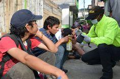 Alcaldía de Dosquebradas y Policía Nacional iniciaron proceso de caracterización de los habitantes de calle
