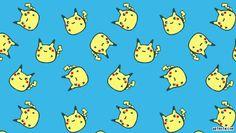 Cute Fat Pikachu | Chubby Pikachu PSP Wallpaper