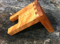 Guitar Hanger Wall Mount  Solid Cherry by JDrewCarpentry on Etsy, $13.00