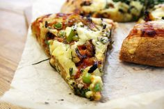 #lactofree red pesto broccoli and pea wholemeal pizza - Belleau Kitchen #lactofreechallenge #sp