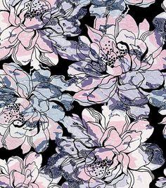 Textured flowers for » https://patternbank.com/mariia #patternbank #fabrics #pattern #flowers #peiones #texture #seamless IG: @mariia_alexxandrova