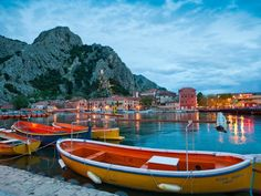 Omis, Croatia. WEBSHOTS