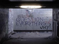 I'm going to create this beautiful graffiti piece... Or I'm going to be a sarcastic punk... What's the difference really.