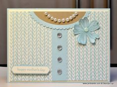 JanB Handmade Cards Atelier: Mother's Day Blouse Card