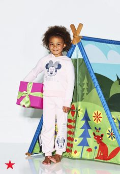 Go camping in the comfort (and safety) of your backyard with this Kid Made Modern tent. It's super easy to assemble and will have your kids' imagination running wild—available now at Macy's!
