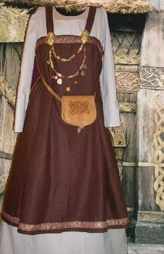 Hey, I found this really awesome Etsy listing at https://www.etsy.com/listing/125800140/norse-viking-apron-kirtle-sca-garb