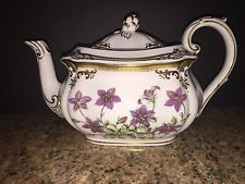 SPODE Stafford Flowers England Fine Bone China Porcelain Tea Pot with Lid New