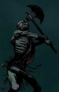 madness-and-gods: By Mike Mignola