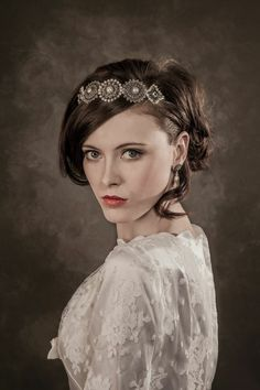 Gill Clements Tiara. #hair #beauty #bridal #bride