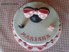 Bolo de aniversário da Mariana - Minnie