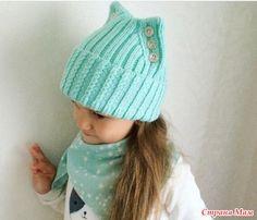 . Помощь в вязании шапки - Помощь в вязании - Страна Мам