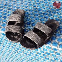 43256f4878df3e Always made in Hawaii at Lavahut! Kids Black Jandals® - Pali Hawaii Sandals