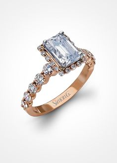 The Hottest New Engagement Ring Trends: #2. Rose Gold