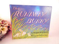 The Runaway Bunny by Margaret Wise Brown Vintage 1972 Children's Preschool Book