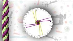 Cómo hacer una pulsera kumihimo con diseño en espiral   Manualidades