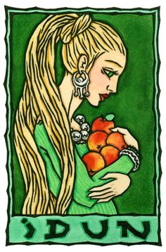 Idun, Norse Goddess of Youth and Immortality/I am ancient and young.