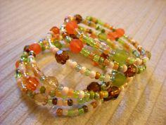 SOLD Foliage Bracelet by luckyblacksheep on Etsy