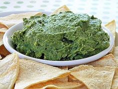 Spinach and Cannellini Bean Dip by Cinnamon Spice and Everything Nice