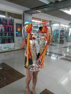 77CM Height Champions League Trophy Cup Model Fans Souvenirs Trophy Collectibles Big ears trophy The Award For the Champions