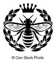 Aves abejas y las plantas de la plantilla 130mm X 130mm