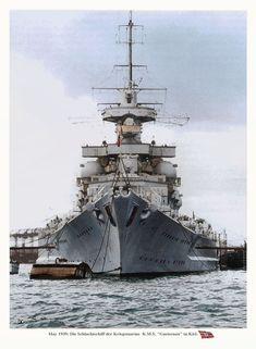 KMS Gneisenau - 1939 Kiel