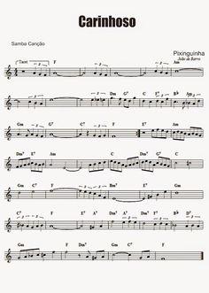 Adriano Dozol - Dicas, Partituras Grátis e Vídeos - Teclado | Piano: Carinhoso - Pixinguinha (chorinho) - Partitura para Teclado