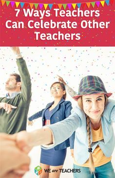 We asked teachers for their deas of how to celebrate and show appreciation for your teacher colleagues during Teacher Appreciation Week. Teacher Team Building, Teacher Morale, Staff Morale, Faculty Meetings, Team Motivation, My Favourite Teacher, We Are Teachers, Instructional Coaching, Teacher Inspiration