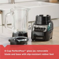 Renewed Multi-Function Blender with 14 Speeds /& 40 oz Glass Jar 54220 Black Hamilton Beach Wave Crusher