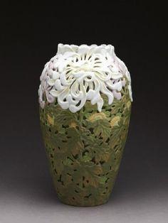 Image result for carved pottery designs